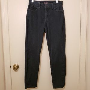 NYDJ ALINA Convertible Ankle Lift Tuck Size 6 Jean